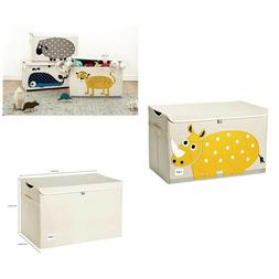 Storage Trunk Chest Kids Toy Storage Organizer Laundry Hampe