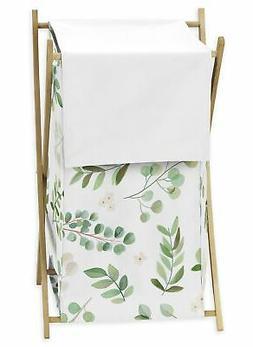 Sweet Jojo Green Watercolor Tropical Floral Leaf Baby Kid Cl