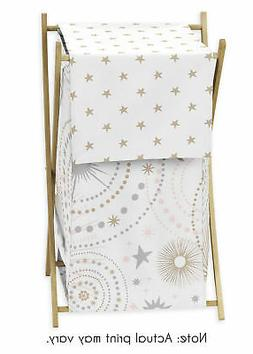Sweet Jojo Kids Baby Clothes Laundry Hamper For Pink Gold Ce