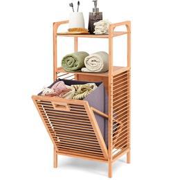 Tilt Out Laundry Hamper Cabinet Room Organizer And Storage B