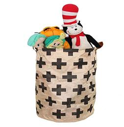 Toy Storage Bin Perfect for Toys Clothes or Laundry leather