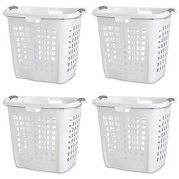 Sterilite Ultra Easy Carry Plastic Dirty Clothes Laundry Bas