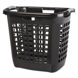 Ultra Laundry Basket Blk Pack of 4