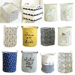 Various Large Laundry Hamper Bag Clothes Storage Basket Kids